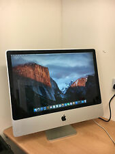 "APPLE iMAC 24"" Intel Core 2 Duo 3.06GHz 4GB 500GB EL CAPITAN DESKTOP COMPUTER UK"