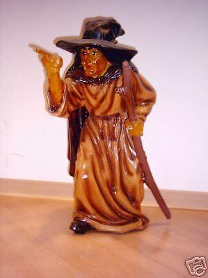 Hexenfigur Dekofigur Hexe Figur Höhe69cm