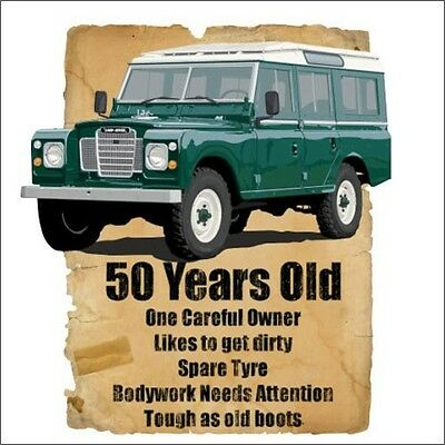 50 Year Old 4x4 50th Birthday Gift Off Road Fathers Day Spoof Funny T-Shirt
