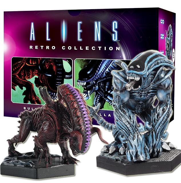 Gli ALIEN & ProssoATOR FIGURINA COLLEZIONE. gli alieni Retrò Collection