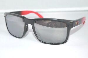 4c9e45b331 Image is loading Oakley-Holbrook-POLARIZED-Sunglasses-OO9102-D3-Ruby-Fade-