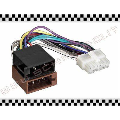 Sito Ufficiale C52 Cavo Adattatore Iso Per Autoradio H&b - 12 Pin Connettore