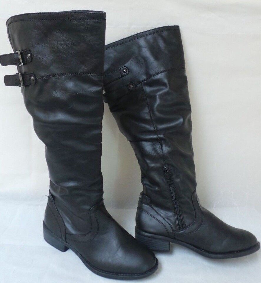 New! Apt 9 Womens Langton Boots-Black       190N    la