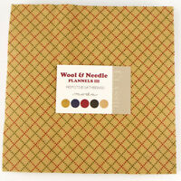 Wool Needle Flannels Iii42-10 In Squaresmoda Fabriclayer Cakegatherings