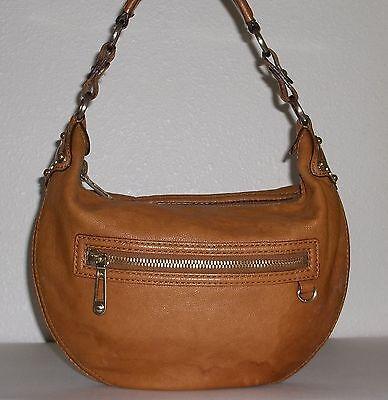 Michael Kors Light Brown / British Tan Pebble Leather Purse Handbag Bag