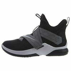 premium selection ad546 02cac Details about Nike Zoom Lebron Soldier XII SFG Basketball Shoes (11,  Black/White)