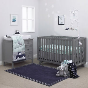 Image Is Loading Child Of Mine Cars 4 Piece Crib Bedding