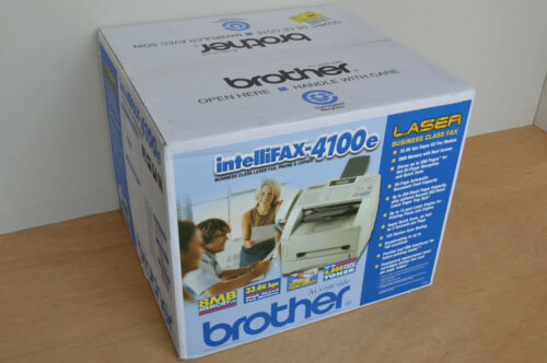 Brand New Brother IntelliFAX 4100e Business Laser Fax Printer Scan 33.6kbps $299