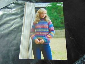 29f9958e097b0 Image is loading James-C-Brett-Chunky-Knitting-Pattern-JB553-Sweater