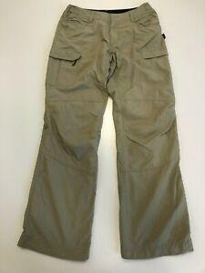 H345-Bottines-Femme-Berghaus-Beige-Roll-Up-Leger-Randonnee-Pantalon-UK-10-W28-L31