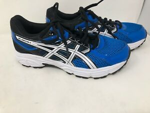 c8b58d4eed1 New! Youth Boy s Asics Gel-Contend 3 Running Shoes SZ 5 C566N Blue ...