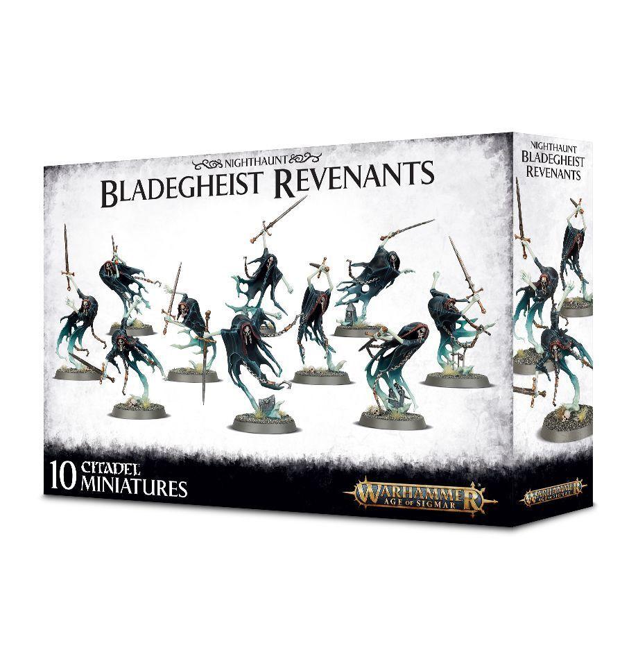 Age of Sigmar  Nighthaunt Bladegheist Revenants GW GW GW 91-27 Plastic NIB e01234