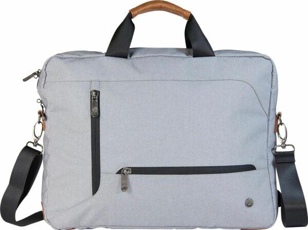 "100% Waar Pgk Annex Laptop Sleeve Messenger Bag Case 13"" Light Grey Weatherproof Sterke Verpakking"