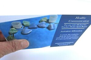 HEALTHY-COMMUNICATION-Grid-Card-4x6-034-Heavy-Cardstock-For-Use-with-Crystals