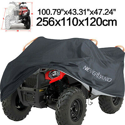XXXL 190T Waterproof ATV Storage Cover Universal Fit Polaris Honda Yamaha Suzuki
