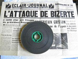 Film-16mm-034-Actualites-Eclair-Journal-n-30-de-1961-034-sommaire-papier