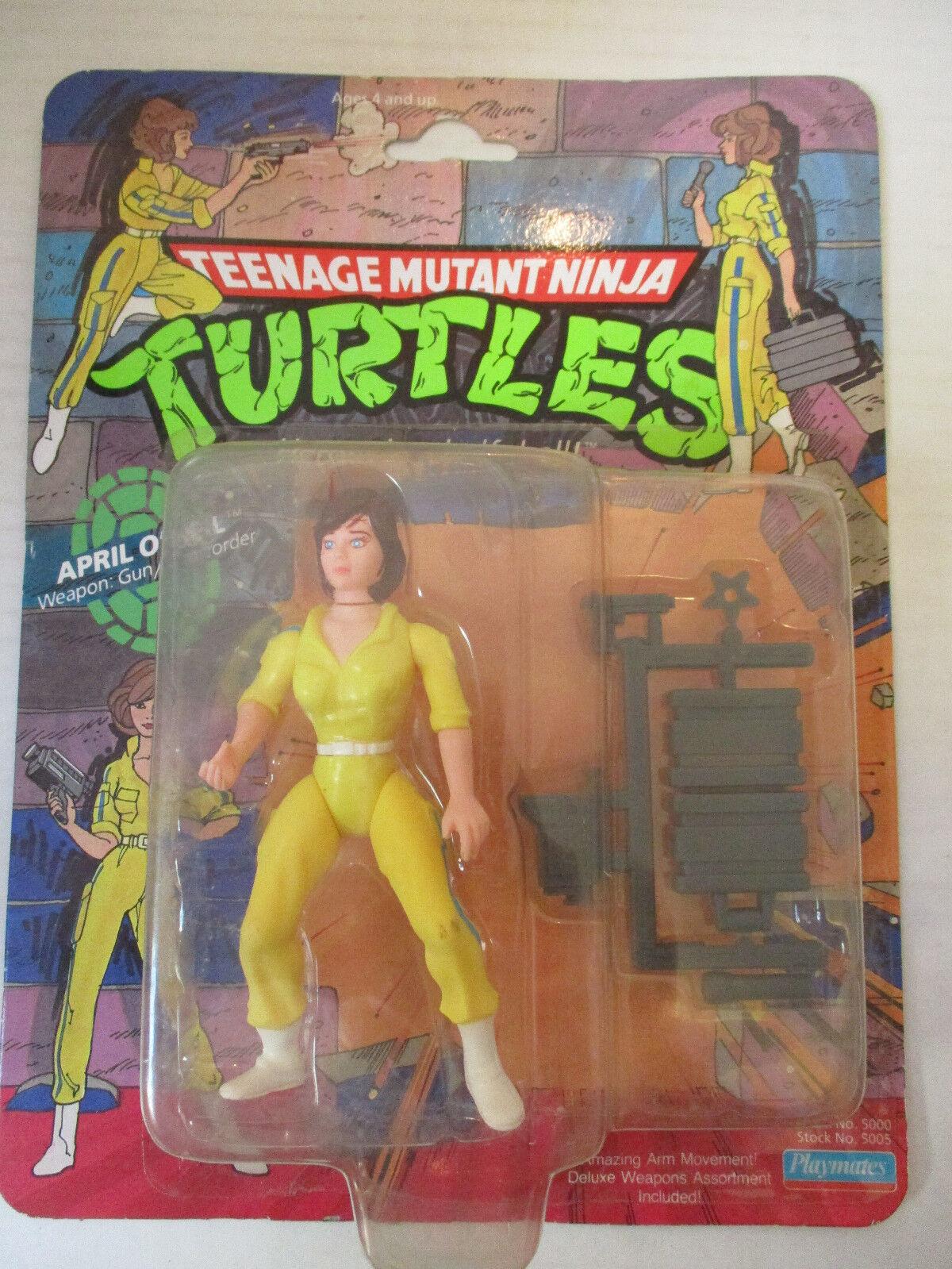 1988 Mirage Studios Teenage Mutant Ninja Turtles April O'Neil Action Figure