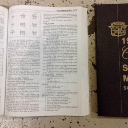 1977 CADILLAC ELDORADO FLEETWOOD DEVILLE SEVILLE Shop Service Repair Manual Set
