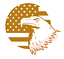 Eagle-US-Flag-Stick-Vinyl-Decal-Window-Sticker-Car thumbnail 5