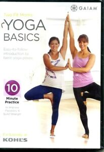 new ytwo fit moms yoga basics dvd the gaiam fitness