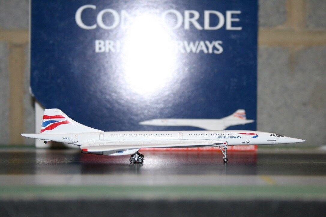 Gemini Jets 1 400 British Airways Concorde G-BOAE (GJBAW538) Model Plane