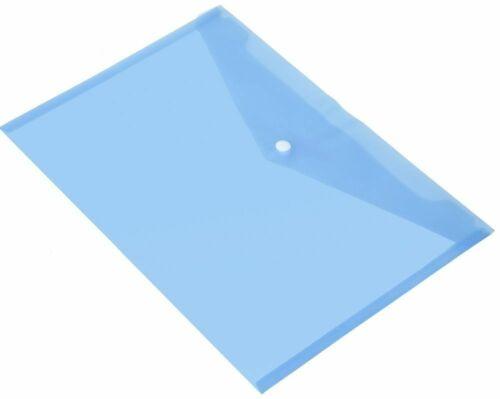 wholesale file Folder Plastic Small Button A4 file folder,Document Wallets