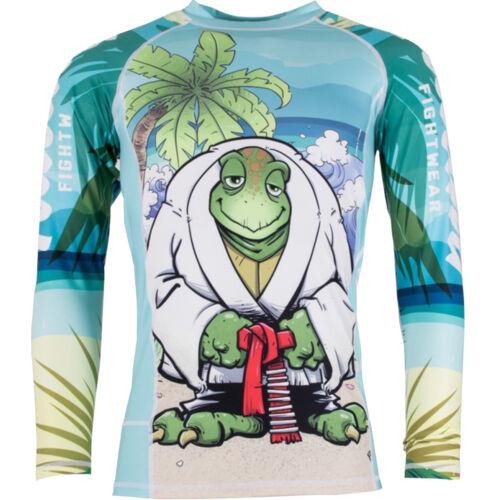 Tatami Turtle Guard Long Sleeve BJJ Rashguard