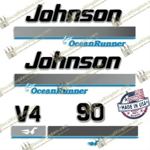Johnson Ocean Runner 19961998 Outboard Engine Decal Multiple Styles 3M Marine