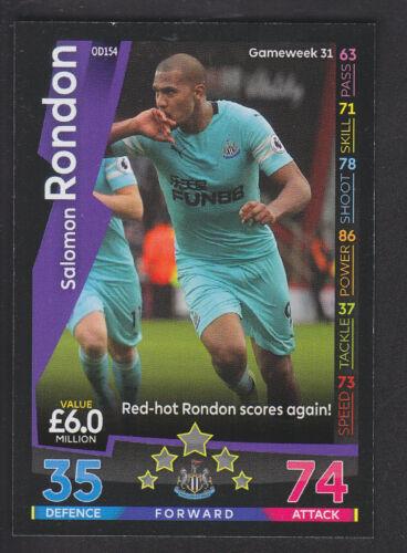 On Demand 2018//19-154 Salomon Rondon Newcastle Match Attax