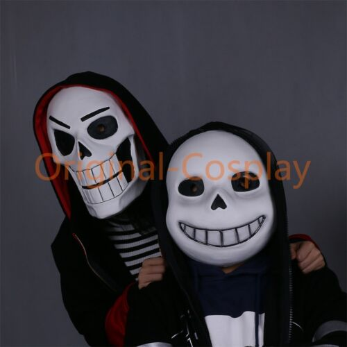 Undertale Mask Cosplay Sans Mask /& Papyrus Mask Halloween Adult Helmet Prop New