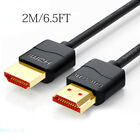 HDMI Cable V2.0 4K 60Hz 3D 1080P HDTV LCD LED For PS3 PS4 XBOX BLURAY Black