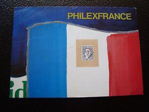 Francia-Tarjeta-Postal-1982-Tema-Filatelia-cy67-Francesa-De