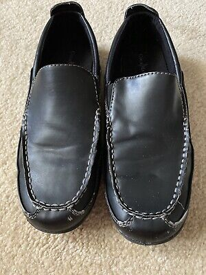COLE HAAN Black SCHOOL SHOES LOAFERS