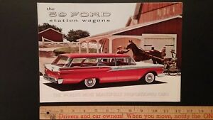 1959-FORD-Station-Wagons-Dealer-Sales-Catalog-Very-Good-Condition-USA