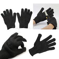 Pair de Gant Protection Acier Inoxydable Anti-Coupure Résistance Gloves NEW