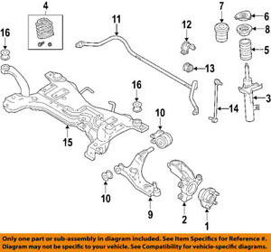 image is loading volvo-oem-05-11-s40-front-suspension-coil-