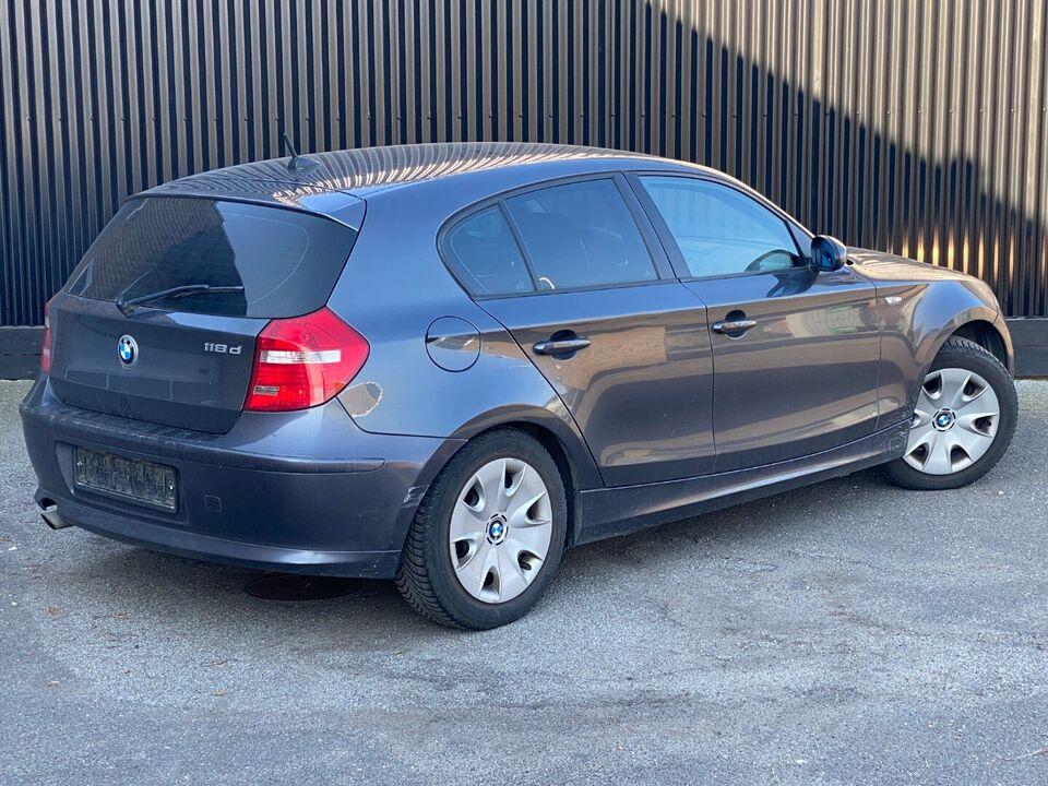 BMW 118d 2,0 Advantage Diesel modelår 2007 km 333000 ABS