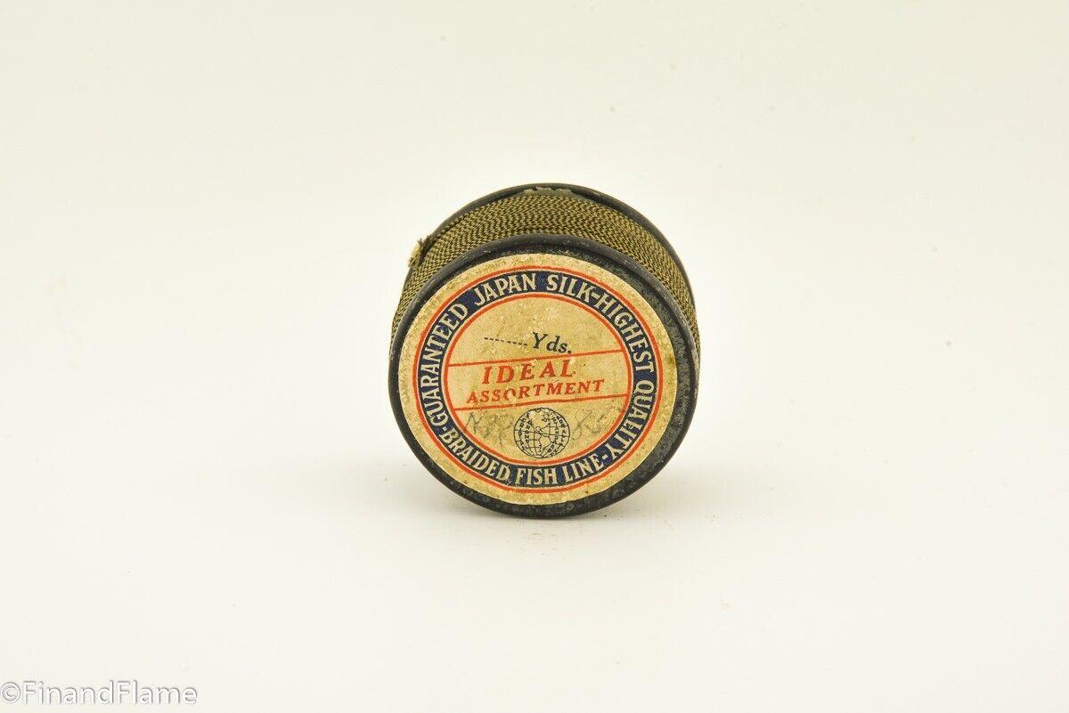 Vintage Ideal Assortment  Meridian Japan Silk Antique Fishing Line Spool JES24  factory outlets