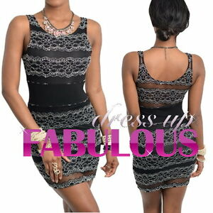 SEXY-WOMEN-039-S-DRESS-PARTY-COCKTAIL-CLUB-EVENING-GOING-OUT-Size-2-4-6-8-10-XS-S-M