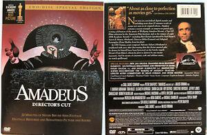 AMADEUS DIRECTORS CUT WARNER REGION 1 NTSC DVD 2 DISC - <span itemprop='availableAtOrFrom'>Berkshire, United Kingdom</span> - AMADEUS DIRECTORS CUT WARNER REGION 1 NTSC DVD 2 DISC - Berkshire, United Kingdom
