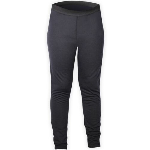 Hot Chillys Boys Thermal Mid Weight Pepper Skins Bottom Black NWT XS Sm Lrg XLrg