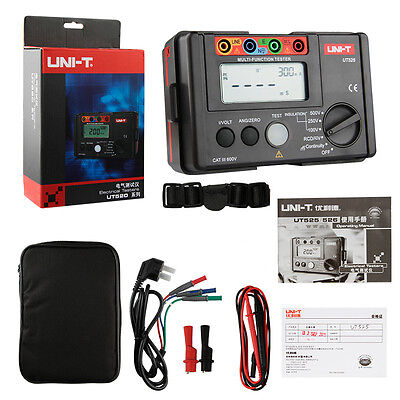 UNI-T UT525 Electrical Insulation Tester+RCD Tester+Continuity+VAC/DC (4 in 1)