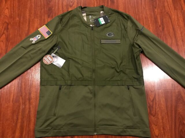 Nike Men's Green Bay Packers Salute To Service Hybrid Jacket XL Extra Large NFL