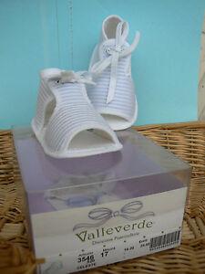 NUOVO-Valleverde-scarpine-sandali-neonato-num-18-colore-celeste