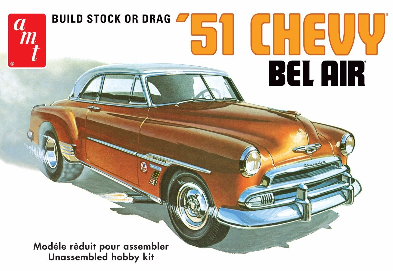 1951 Chevy Styleline Wiring Harness Library Rat Rod Ebay Amt 862 1 25 Scale Bel Air Hardtop Plastic Model Kit
