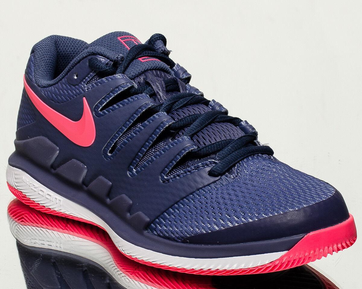 Nike femmes  Air Zoom Vapor X HC femmes tennis chaussures NEW Bleu recall rose AA8027-400