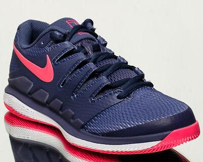 Nike Femme Air Zoom Vapeur X HC Chaussures de Tennis Nouveau Bleu Recall Rose   eBay