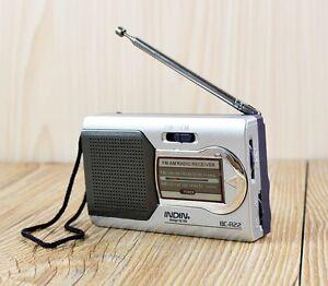 Portable AM/FM Telescopic Antenna Radio World Receiver Battery Powered