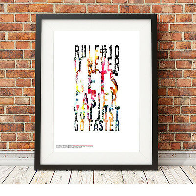 Marco Pantani Ciclismo ❤ ❤ Poster Art Print Edizione Limitata In 5 Taglie #25-