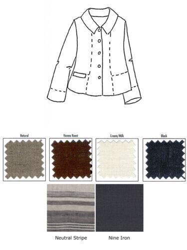 1g Nuovo Caper neutra Artsy posteriore 13 Colore U pik Linen Lino Borsetta Cappotto 1x pqn6OZqw8x